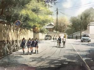 あの時の空の色 - 赤坂孝史の水彩画