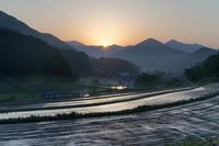 輝く2つの太陽 - katsuのヘタッピ風景
