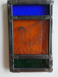 天使のミニ額 - うららフェルトライフ