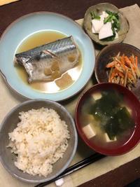 サバの味噌煮 - 庶民のショボい食卓