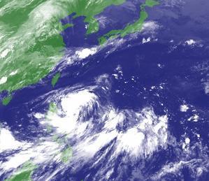 台風4号、フィリピンから台湾キールン経由で中国大陸向け。 - 沖縄の風