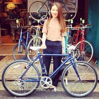☆本日のバイシクルガール☆ 自転車女子 自転車ガール ミニベロ クロスバイク ライトウェイ トーキョーバイク シュウイン ラレー ブルーノ おしゃれ自転車 マリン ターン シェファード - サイクルショップ『リピト・イシュタール』 スタッフのあれこれそれ