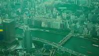 隅田川俯瞰 - 風の香に誘われて 風景のふぉと缶