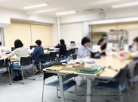 『ヴォーグ学園横浜校』生徒さんの大きなビニコトート&ポーチ♪ - neige+ 手作りのある暮らし