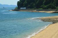 潮が引いた浜 - ゆる鉄旅情