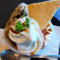 博多マルイ「丸の内 CAFE会」2回目 - 福岡の抹茶かき氷