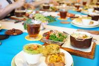 7/16カミまくりのレッスンレポート^^; -  川崎市のお料理教室 *おいしい table*        家庭で簡単おもてなし♪