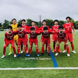 【U-15 MJ1】アズーリ2nd戦で久々の勝利! July 15, 2019 - DUOPARK FC Supporters