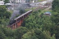 黒煙高らかに荒川橋梁を渡る- 2019年梅雨・秩父鉄道 - - ねこの撮った汽車