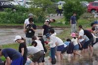 備中国分寺相川七瀬さんと赤米田植え - 下手糞でも楽しめりゃいいじゃんPHOTO BLOG