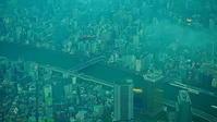 梅雨下の東京市街 - 風の香に誘われて 風景のふぉと缶