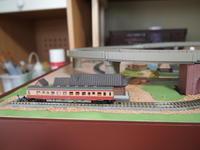 鉄道ジオラマの電車の動画 - わんこ日記