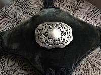 シルバー透かし彫りバックル6 - スペイン・バルセロナ・アンティーク gyu's shop