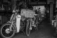 町のバイク屋 - ホンテ島 日記