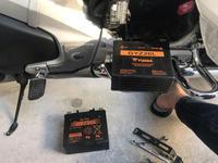 GLバッテリー交換 - ドカポルGS