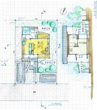 南庭と北庭を愉しめるプラン奈良三郷町の家 - 加藤淳一級建築士事務所の日記