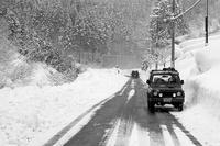 豪雪の旧山陰道にてJA11 - YAJIS OFFICE BLOG