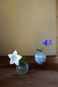 やさしい吹きガラス - g's style day by day ー京都嵐山から、季節を楽しむ日々をお届けしますー