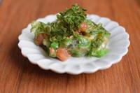 小皿つまみ*おくらの梅おかか和え - 小皿ひとさら