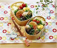 トウモロコシご飯弁当とレモンネイル♪ - ☆Happy time☆