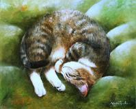 「ARTdeCATS」猫の作品満載です - 油絵画家、永月水人のArt Life