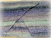 アフガン編みのカシュクールその2 - ルーマニアン・マクラメに魅せられて