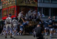 祇園祭・前祭~山鉾巡行(長刀鉾~鶏鉾) - 鏡花水月