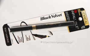 L'oreal Paris 「Infallible Black Velvet Liquid Eyeliner」 - 深川OLアカミミ探偵団