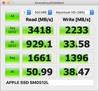 2019/07/18iMac27_2017のSSDのスピードはどうだ? - shindoのブログ