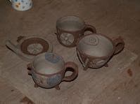 お買い上げありがとうございます!そして新作陶芸作品! - 織月紅希の真っ赤な月窯ギャラリー