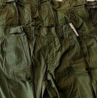 Gurkha Trousers Dead Stock〜Good Condition & West German Military Black German Trainer - DIGUPPER BLOG