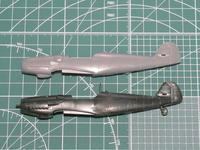 ハセガワ 1/72 Me109G (完成) - サンフィッシュ飛行隊