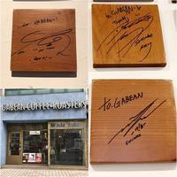 2019.3 テミン2ndソロコンinソウルへの旅vol.6 ~SHINeeのサインがあるカフェ「GABEAN COFFEE ROASTERS」、お気に入りのカルグクス店が閉店(涙) - 晴れた朝には 改