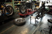 火曜日・水曜日の授業風景 - Vintage motorcycle study
