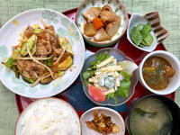 豚キムチ野菜炒め★(^^♪・・・・・700円ランチ - 日だまりカフェ