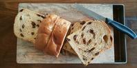 ぶどうパン。 - 奈良県パン教室『ぱんといろいろ…。』