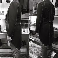 モーニングコート仮縫い - BISYUYA BLOG