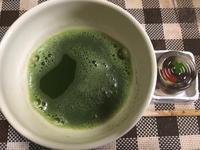 暑い中いただく抹茶は良いね - つれづれの他愛もない日々の日記
