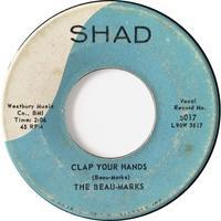 The Beau-Marks – Clap Your Hands / Daddy Said - まわるよレコード ACE WAX COLLECTORS