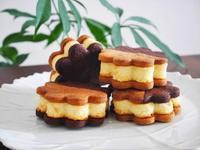 チーズケーキのクッキーサンド♪ - This is delicious !!