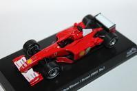 1/64 Kyosho SUZUKA LEGEND 3 2001 Ferrari F1 F2001 - 1/87 SCHUCO & 1/64 KYOSHO ミニカーコレクション byまさーる