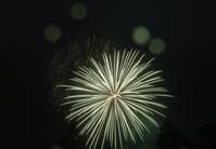 霧雨と大輪の花々のコラボ @会津若松鶴城地区花火大会 - カメラ小僧ぷーちゃんのGRフォトダイアリー。