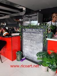 マリアンナ・キッチンがマーケットプレイスにオープン - ジャマイカブログ Ricoのスケッチ・ダイアリ