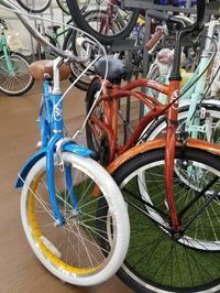 キッズビーチクルーザー人気です - 滝川自転車店