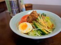 冷やし担々麺:神武食堂(つがる市) - 津軽ジェンヌのcafe日記