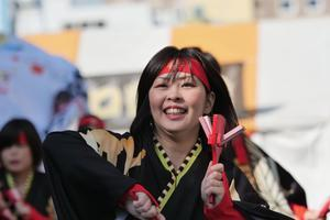 2018YOSAKOIぶち楽市民祭その8(Kagashi無限隊) - ヒロパンのよさこいライク・Nバンライフ