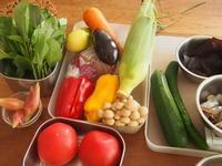 夏野菜たっぷりおもてなしごはん - 子どもと楽しむ食時間