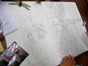 図工(美術)の宿題 - スズキヨシカズ幻燈画室