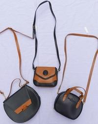 2color bags - carboots