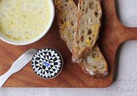 コーンスープで朝ごパン - Nasukon Pantry